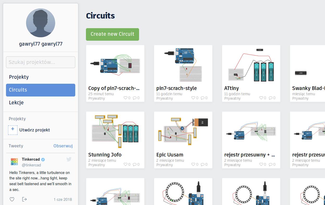 TinkerCAD – wirtualne Arduino – dla początkujących | Koło Naukowe