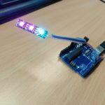 Wojny robotów i programowanie paska z LEDami