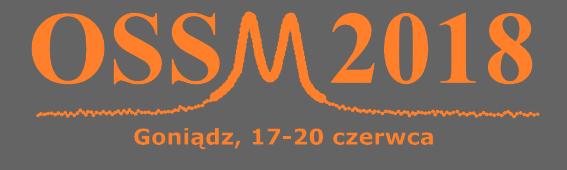 XII Ogólnopolskie Seminarium Spektroskopii Mössbauerowskiej 2018