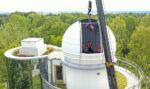 Teleskop ASA600 w Obserwatorium Uniwersytetu w Białymstoku